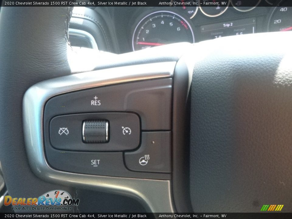 2020 Chevrolet Silverado 1500 RST Crew Cab 4x4 Silver Ice Metallic / Jet Black Photo #18