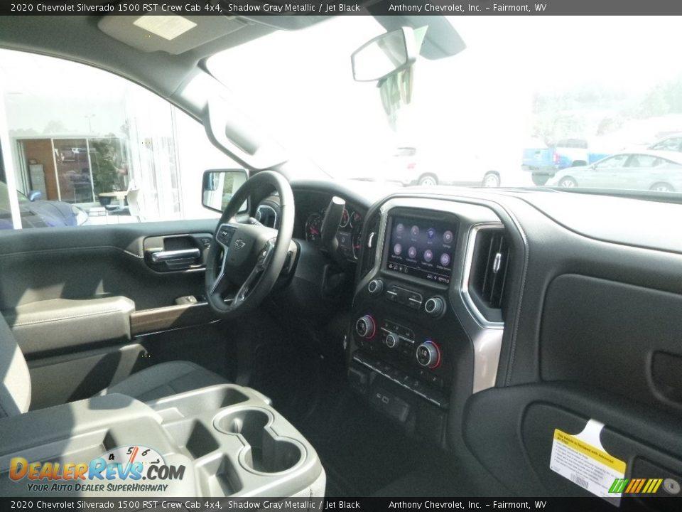 2020 Chevrolet Silverado 1500 RST Crew Cab 4x4 Shadow Gray Metallic / Jet Black Photo #4