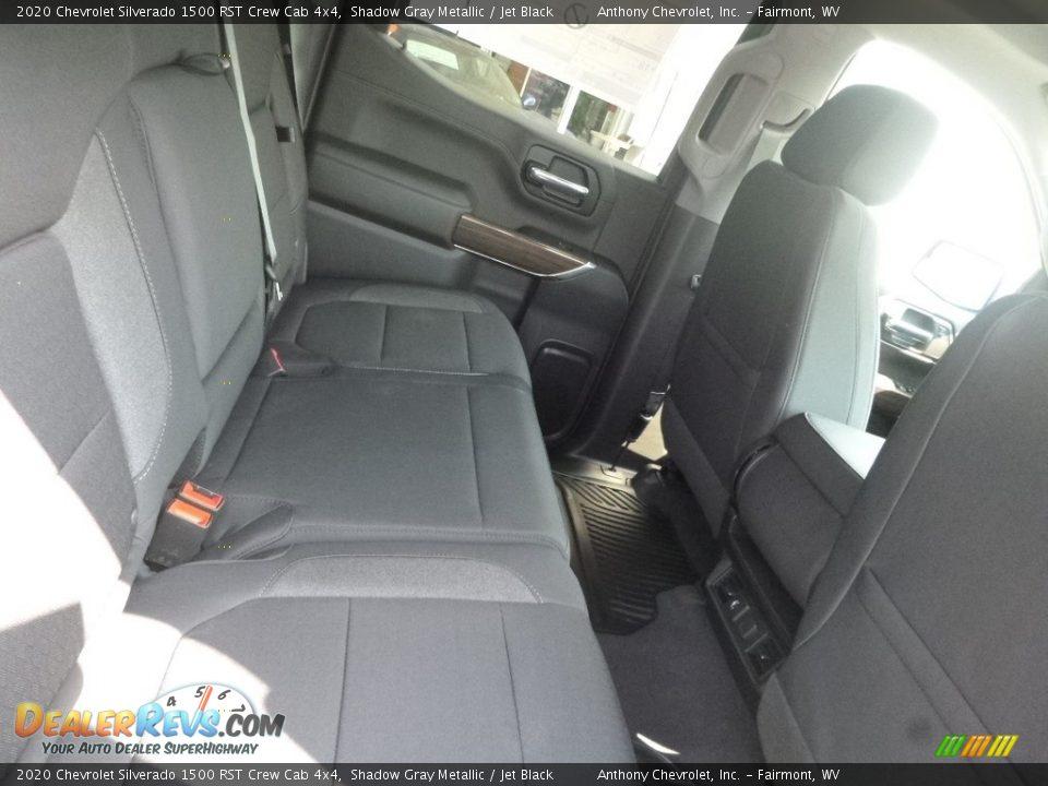 2020 Chevrolet Silverado 1500 RST Crew Cab 4x4 Shadow Gray Metallic / Jet Black Photo #5