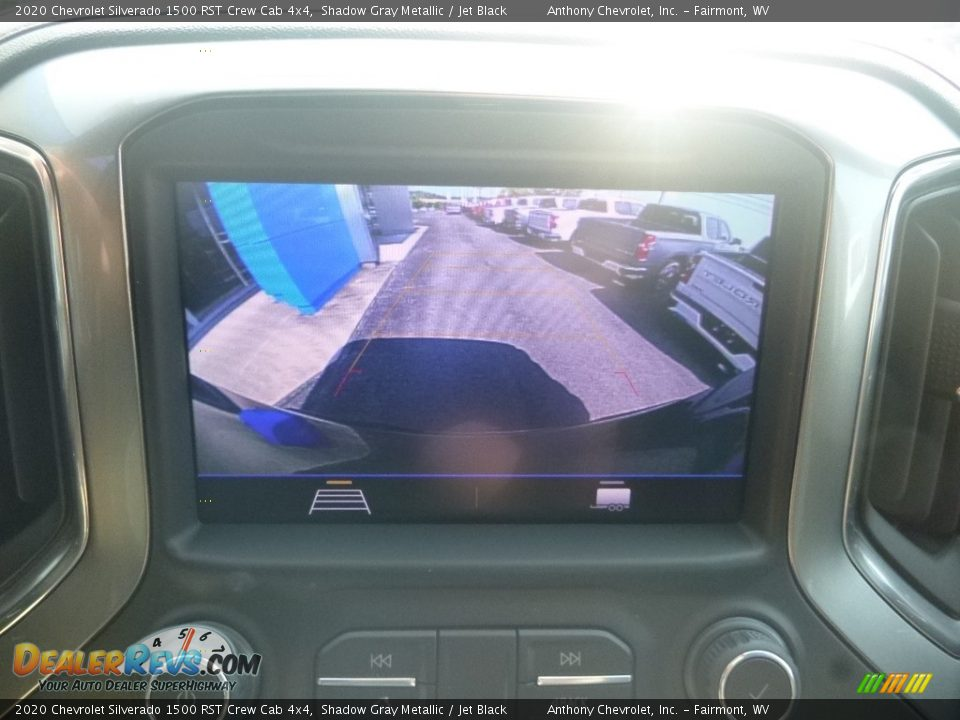 2020 Chevrolet Silverado 1500 RST Crew Cab 4x4 Shadow Gray Metallic / Jet Black Photo #17