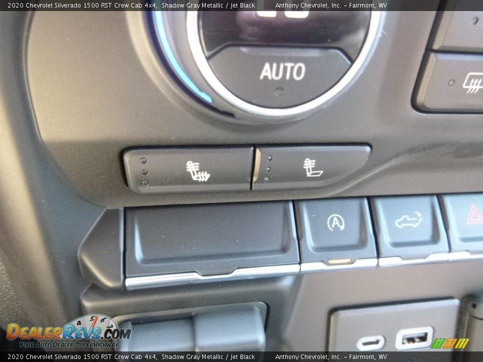 2020 Chevrolet Silverado 1500 RST Crew Cab 4x4 Shadow Gray Metallic / Jet Black Photo #18