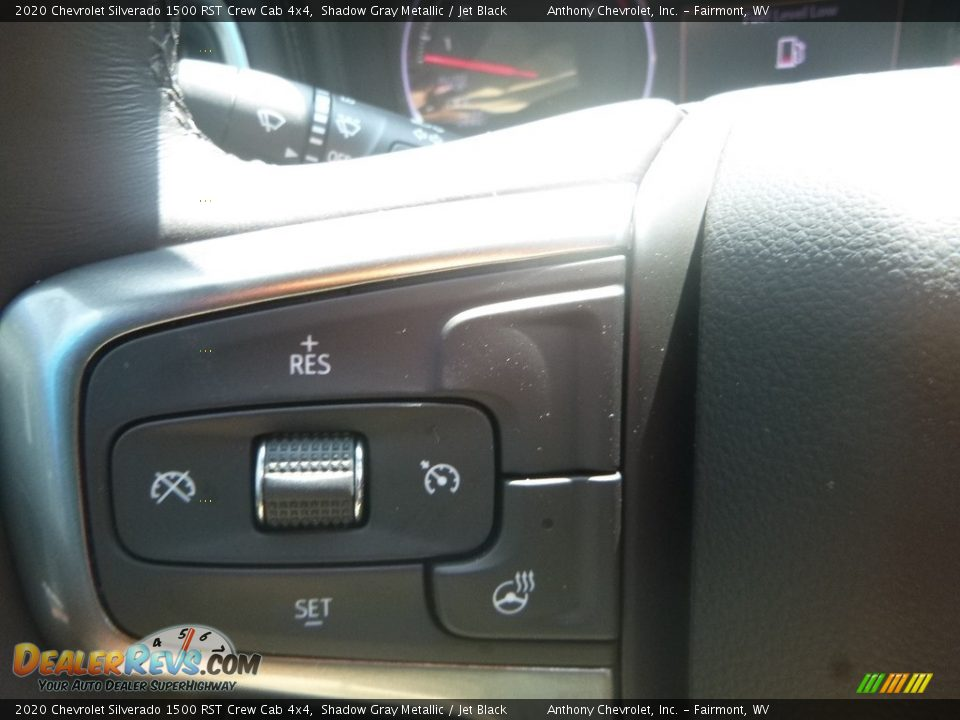 2020 Chevrolet Silverado 1500 RST Crew Cab 4x4 Shadow Gray Metallic / Jet Black Photo #20