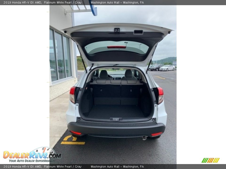 2019 Honda HR-V EX AWD Platinum White Pearl / Gray Photo #20