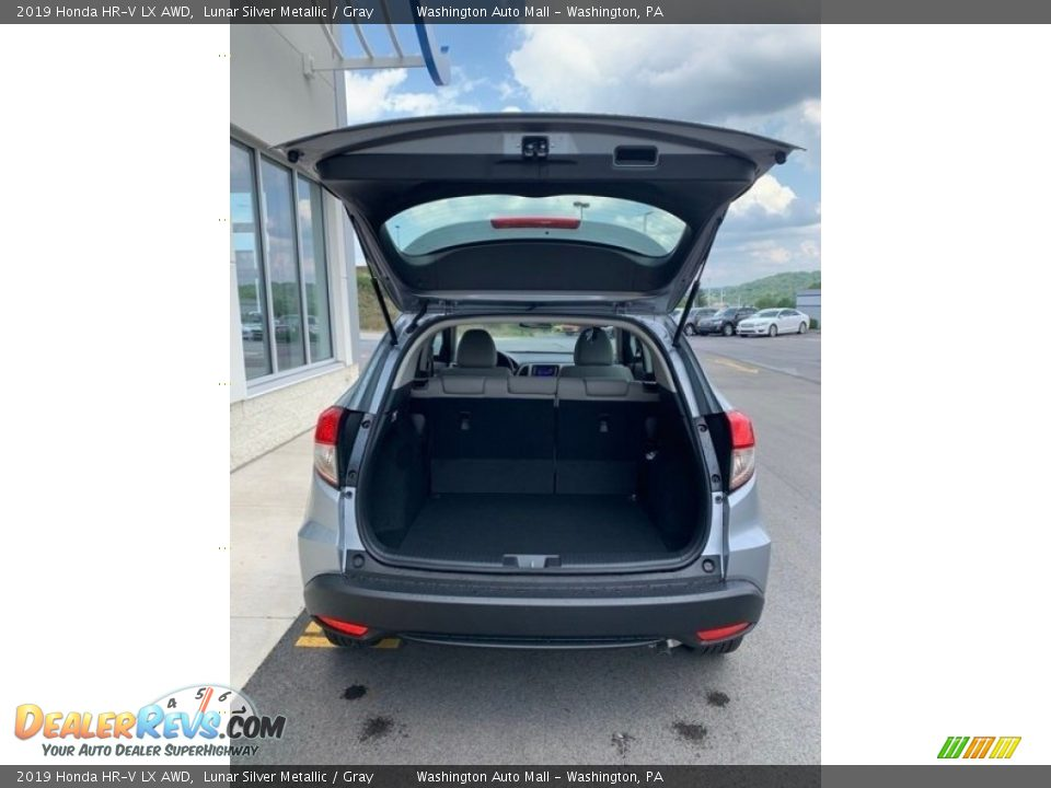 2019 Honda HR-V LX AWD Lunar Silver Metallic / Gray Photo #20