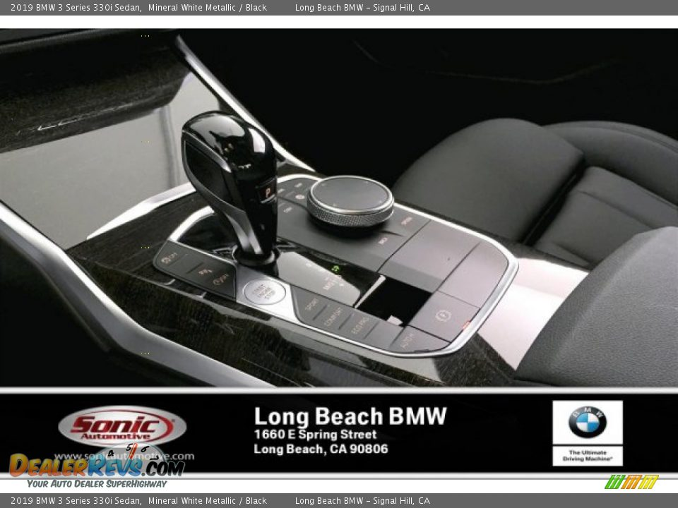 2019 BMW 3 Series 330i Sedan Mineral White Metallic / Black Photo #6