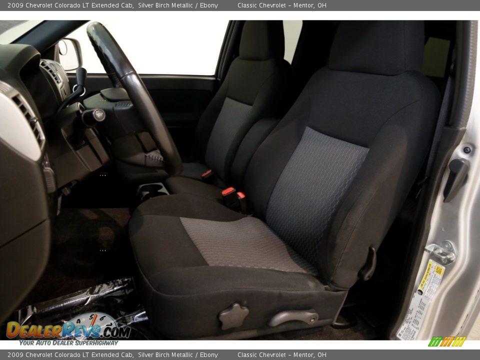 2009 Chevrolet Colorado LT Extended Cab Silver Birch Metallic / Ebony Photo #5