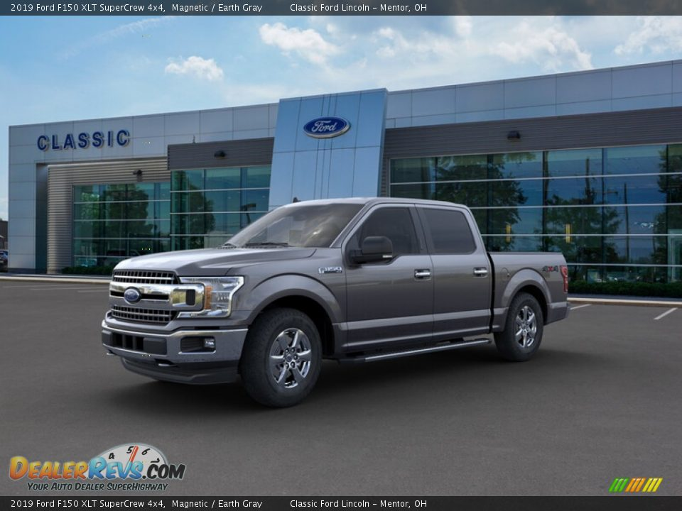 2019 Ford F150 XLT SuperCrew 4x4 Magnetic / Earth Gray Photo #1