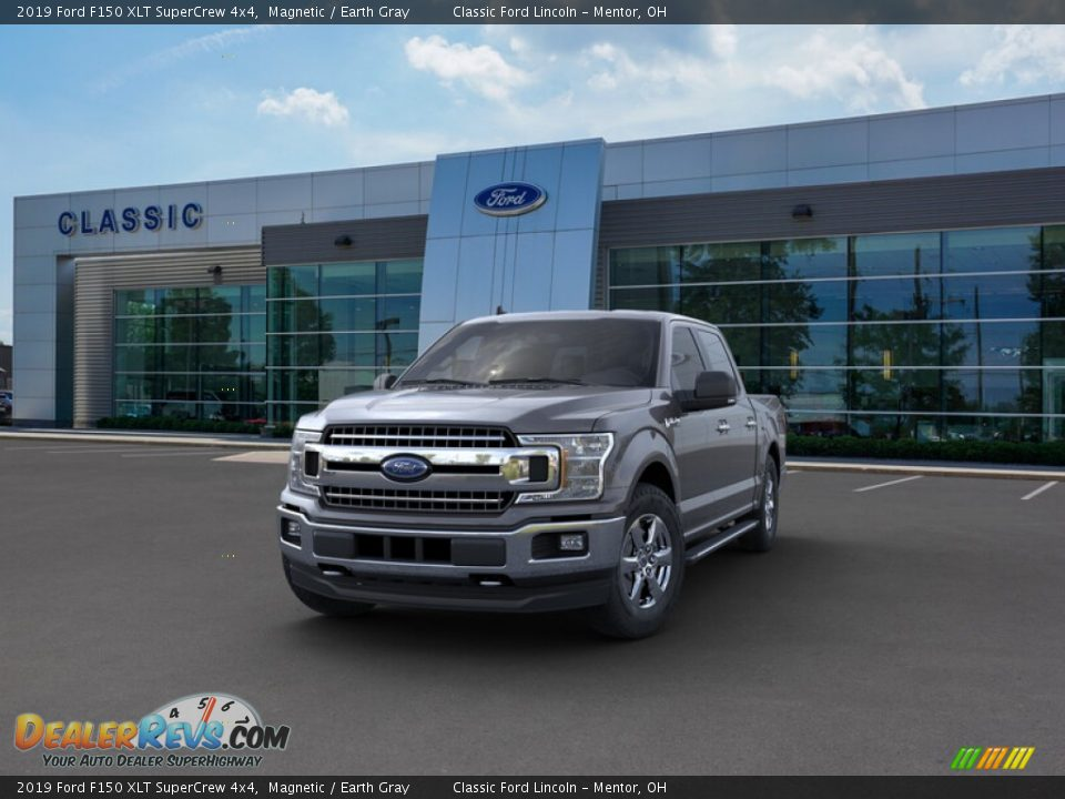2019 Ford F150 XLT SuperCrew 4x4 Magnetic / Earth Gray Photo #2