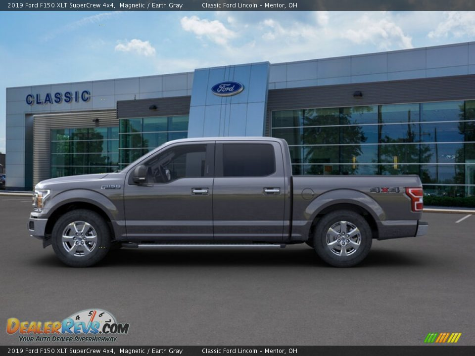 2019 Ford F150 XLT SuperCrew 4x4 Magnetic / Earth Gray Photo #3