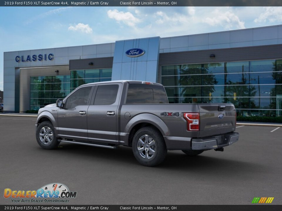 2019 Ford F150 XLT SuperCrew 4x4 Magnetic / Earth Gray Photo #4