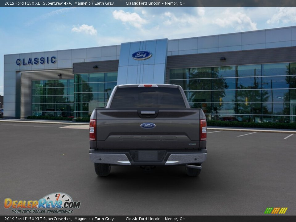 2019 Ford F150 XLT SuperCrew 4x4 Magnetic / Earth Gray Photo #5