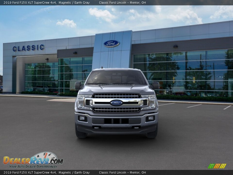 2019 Ford F150 XLT SuperCrew 4x4 Magnetic / Earth Gray Photo #6