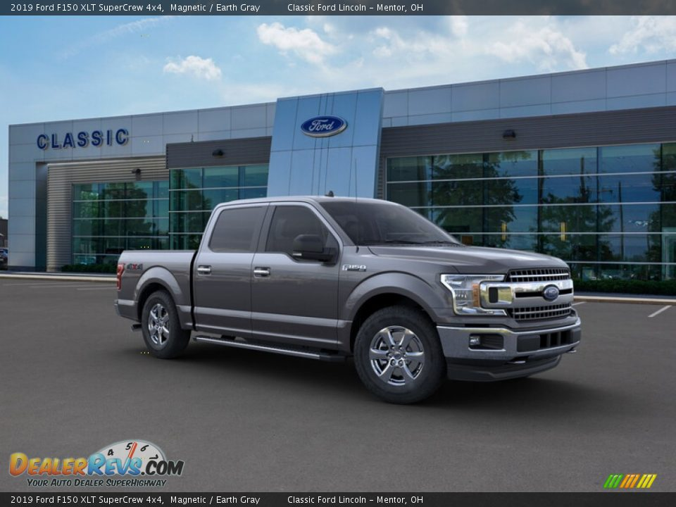 2019 Ford F150 XLT SuperCrew 4x4 Magnetic / Earth Gray Photo #7