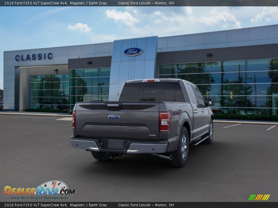 2019 Ford F150 XLT SuperCrew 4x4 Magnetic / Earth Gray Photo #8