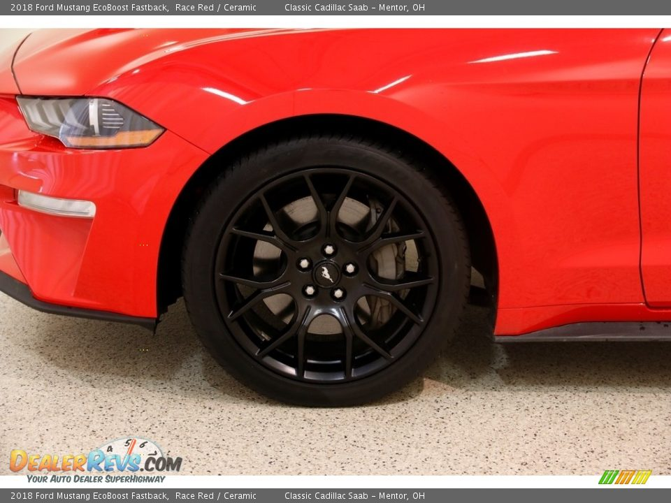 2018 Ford Mustang EcoBoost Fastback Race Red / Ceramic Photo #20