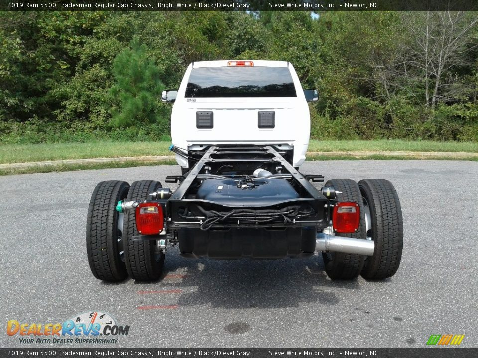 2019 Ram 5500 Tradesman Regular Cab Chassis Bright White / Black/Diesel Gray Photo #12