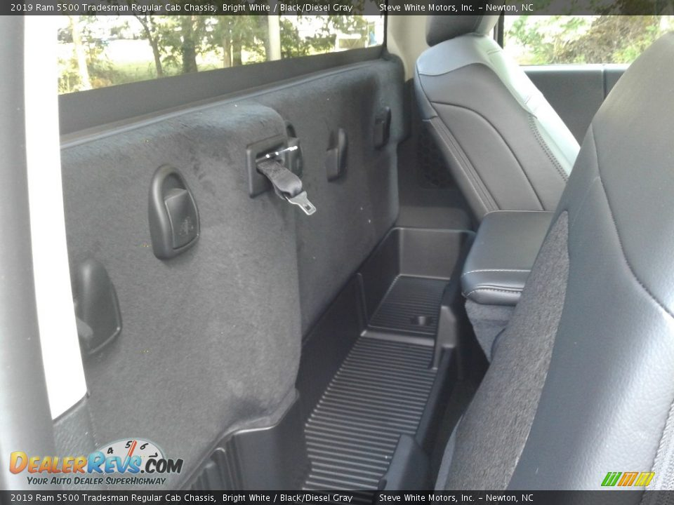 Rear Seat of 2019 Ram 5500 Tradesman Regular Cab Chassis Photo #13