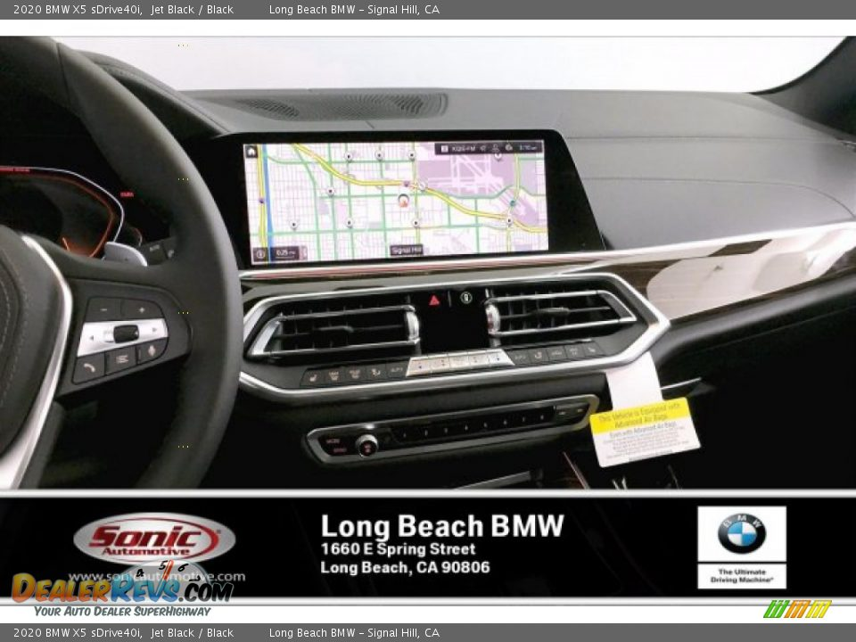 2020 BMW X5 sDrive40i Jet Black / Black Photo #5