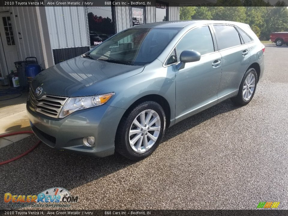 2010 Toyota Venza I4 Aloe Green Metallic / Ivory Photo #26