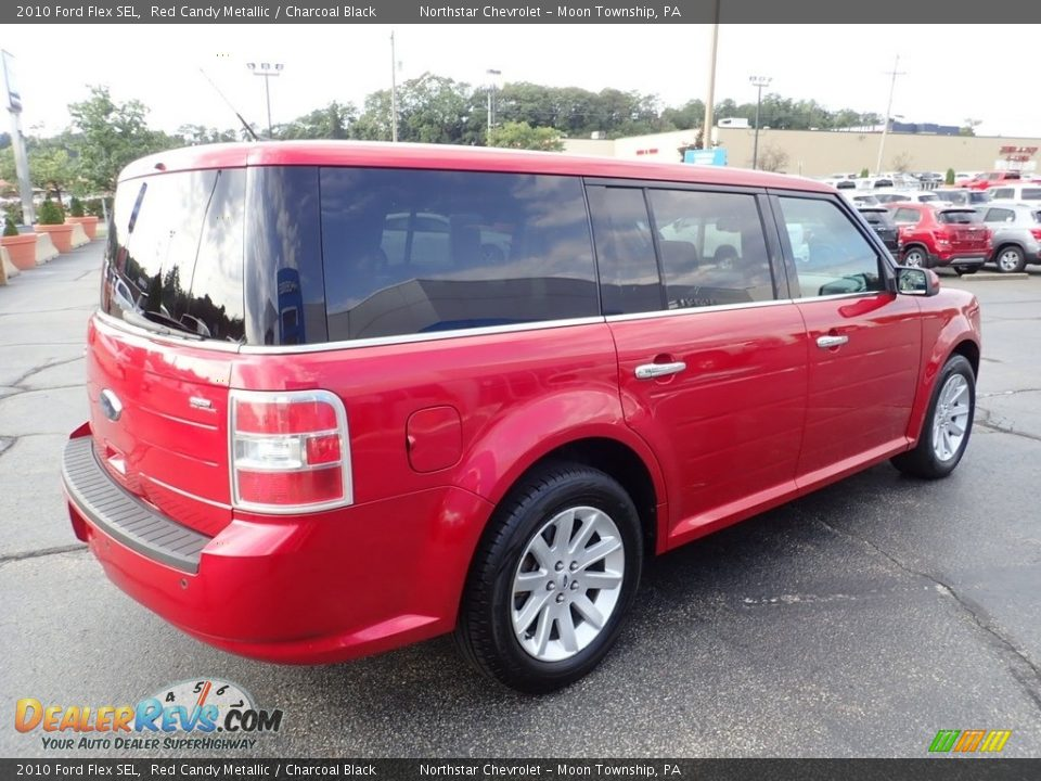 2010 Ford Flex SEL Red Candy Metallic / Charcoal Black Photo #9