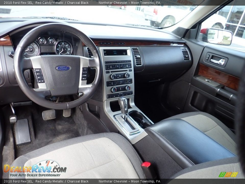 2010 Ford Flex SEL Red Candy Metallic / Charcoal Black Photo #24