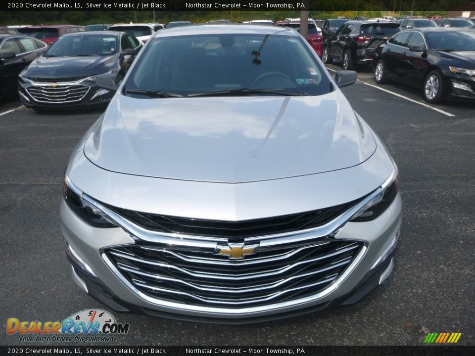 2020 Chevrolet Malibu LS Silver Ice Metallic / Jet Black Photo #8