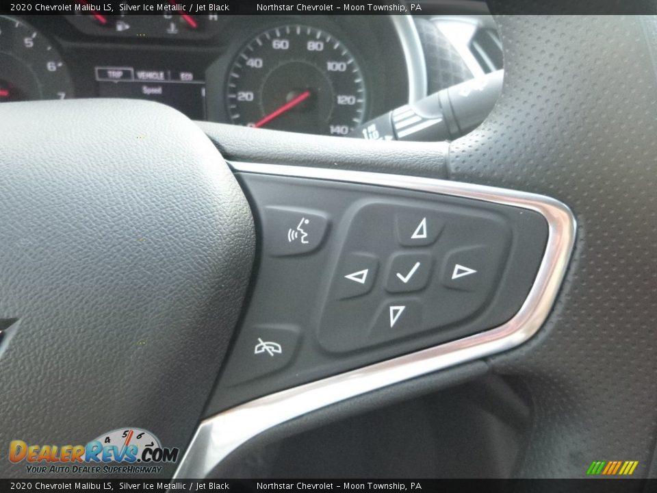 2020 Chevrolet Malibu LS Silver Ice Metallic / Jet Black Photo #19