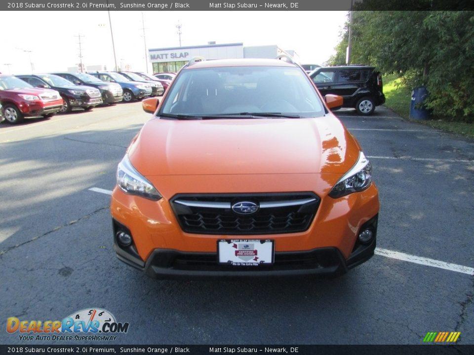 2018 Subaru Crosstrek 2.0i Premium Sunshine Orange / Black Photo #3