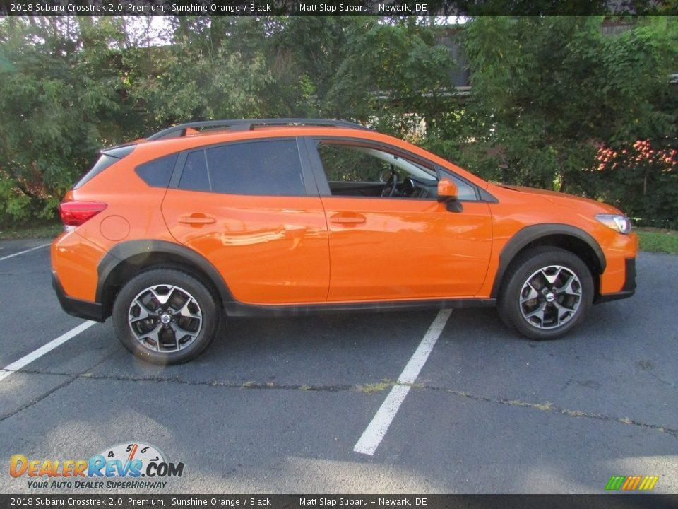 2018 Subaru Crosstrek 2.0i Premium Sunshine Orange / Black Photo #5
