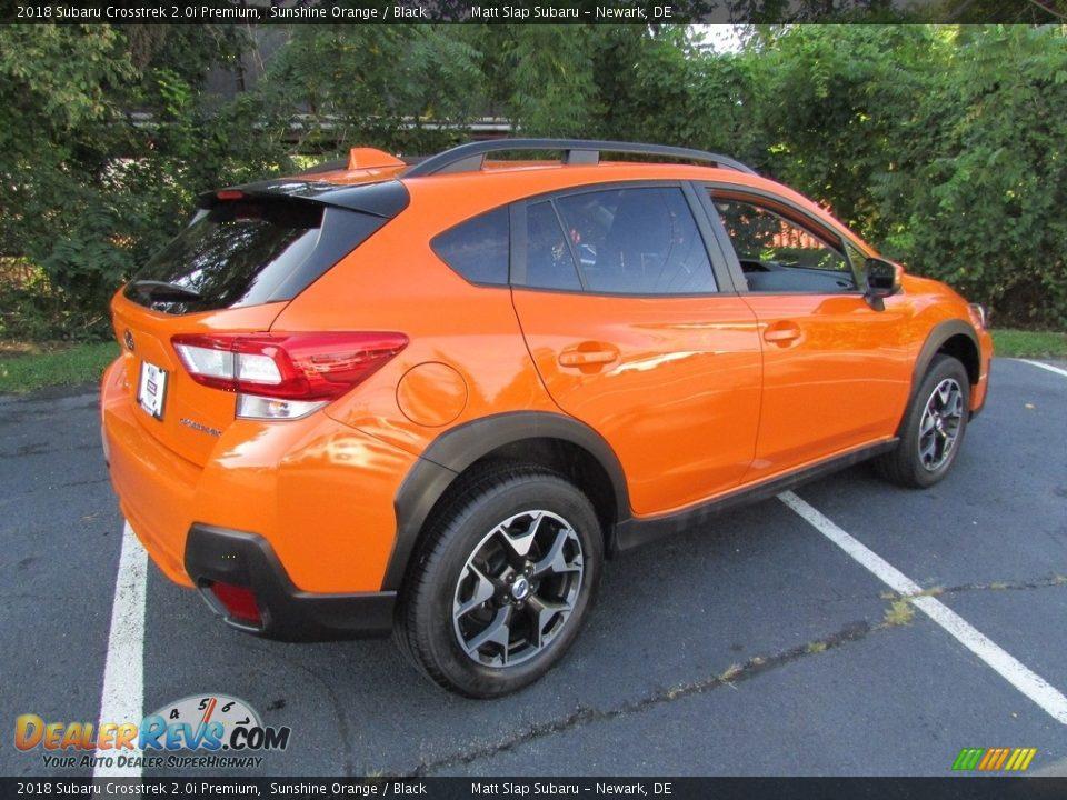 2018 Subaru Crosstrek 2.0i Premium Sunshine Orange / Black Photo #6