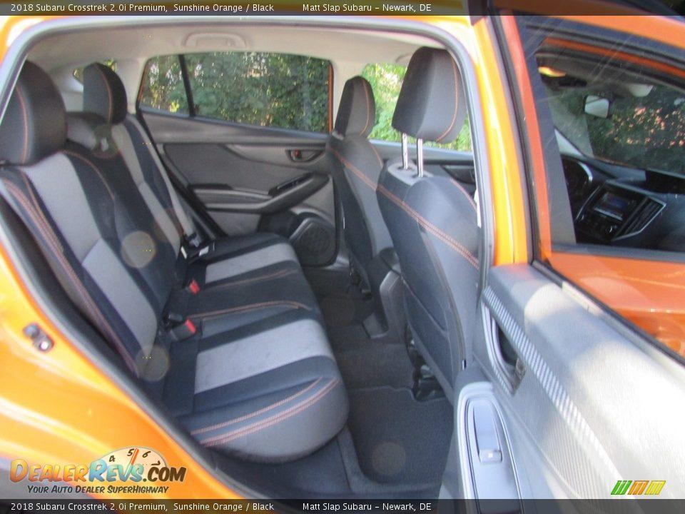 2018 Subaru Crosstrek 2.0i Premium Sunshine Orange / Black Photo #19