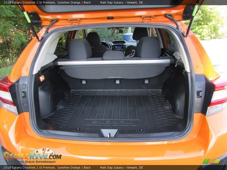 2018 Subaru Crosstrek 2.0i Premium Sunshine Orange / Black Photo #20