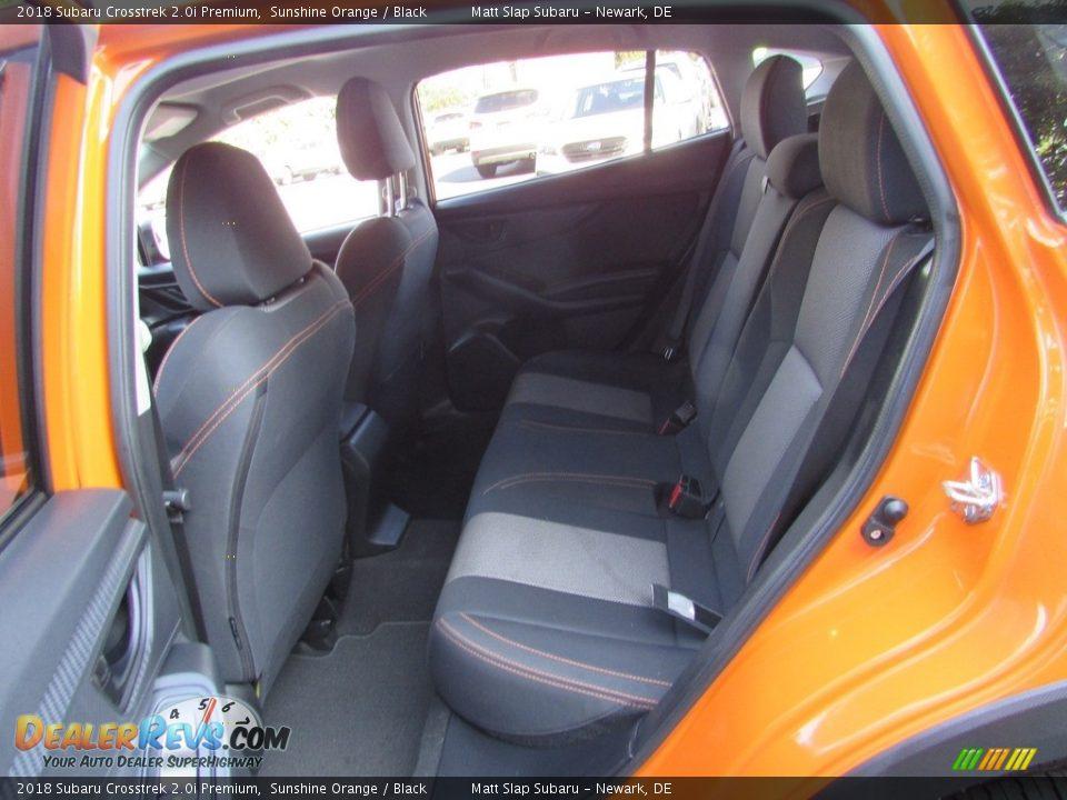 2018 Subaru Crosstrek 2.0i Premium Sunshine Orange / Black Photo #21