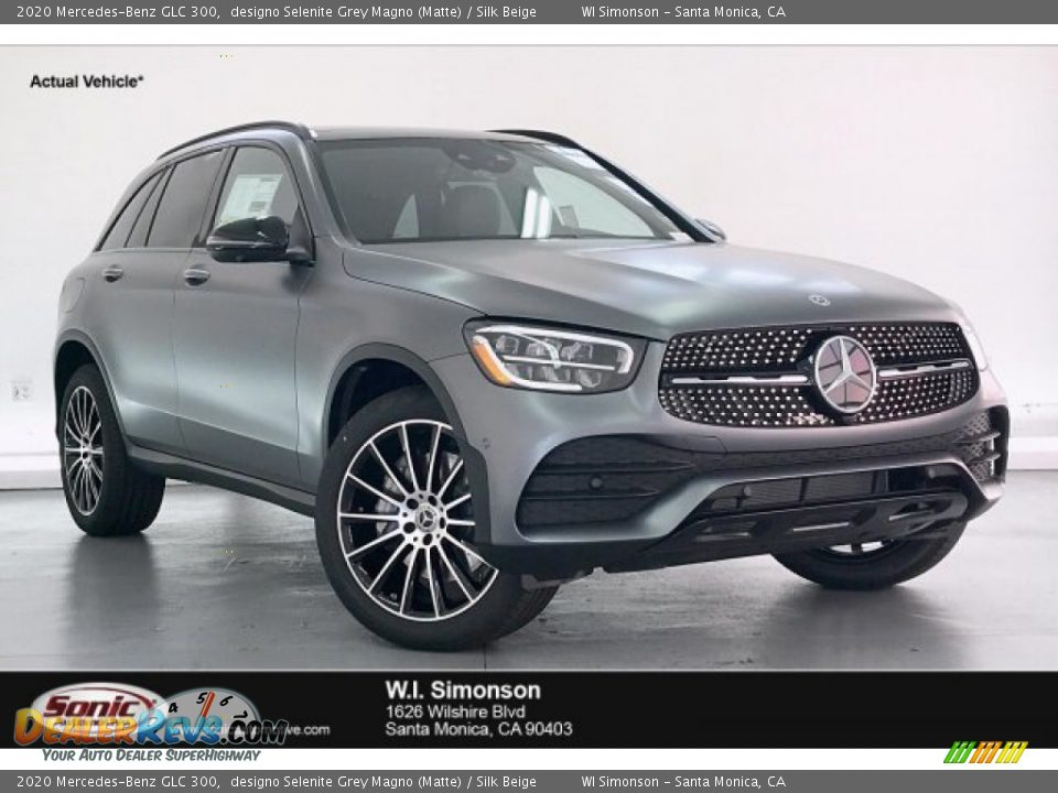 2020 Mercedes-Benz GLC 300 designo Selenite Grey Magno (Matte) / Silk Beige Photo #1