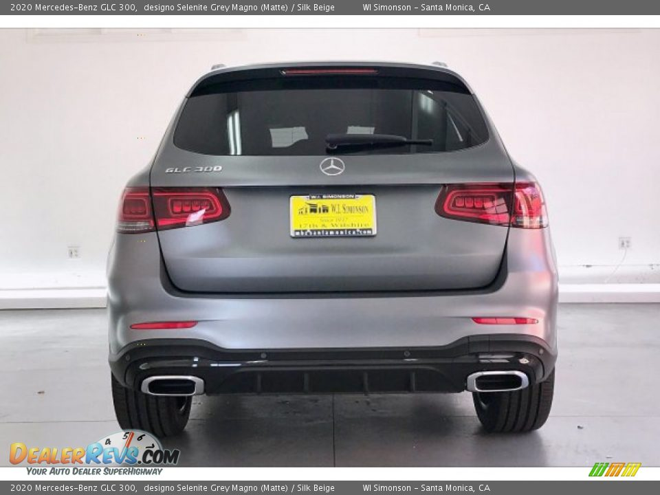2020 Mercedes-Benz GLC 300 designo Selenite Grey Magno (Matte) / Silk Beige Photo #3