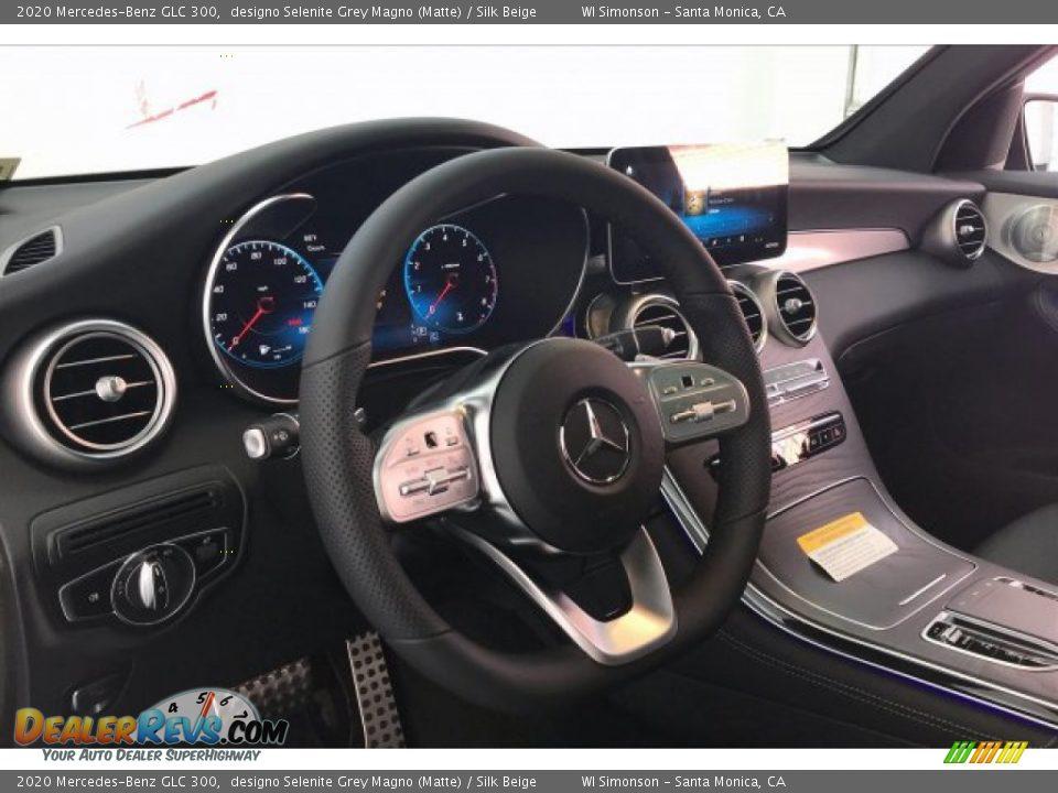2020 Mercedes-Benz GLC 300 designo Selenite Grey Magno (Matte) / Silk Beige Photo #4