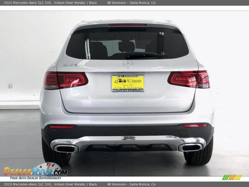 2020 Mercedes-Benz GLC 300 Iridium Silver Metallic / Black Photo #3