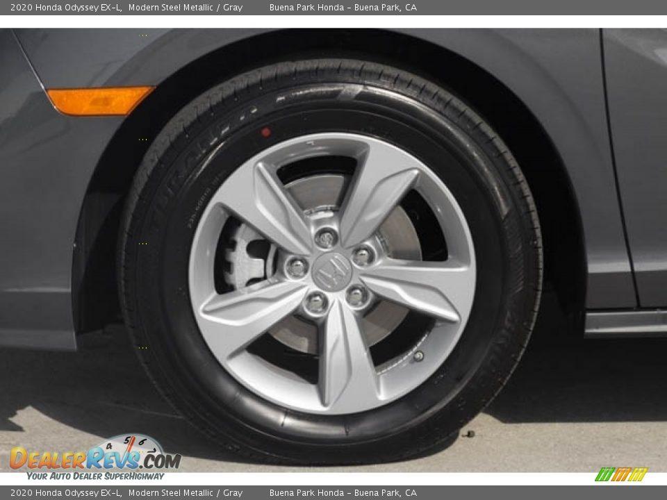 2020 Honda Odyssey EX-L Modern Steel Metallic / Gray Photo #14