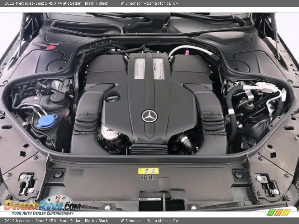 2019 Mercedes-Benz S 450 4Matic Sedan 3.0 Liter DI biturbo DOHC 24-Valve VVT V6 Engine Photo #7