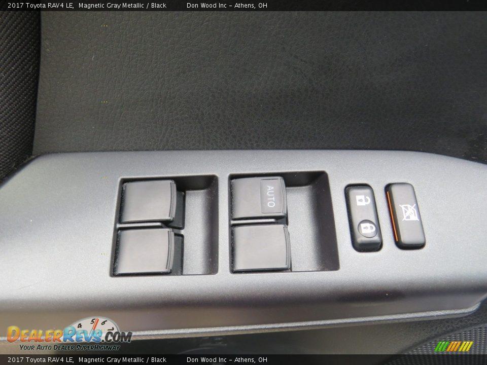 2017 Toyota RAV4 LE Magnetic Gray Metallic / Black Photo #17