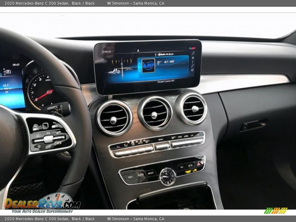 2020 Mercedes-Benz C 300 Sedan Black / Black Photo #6