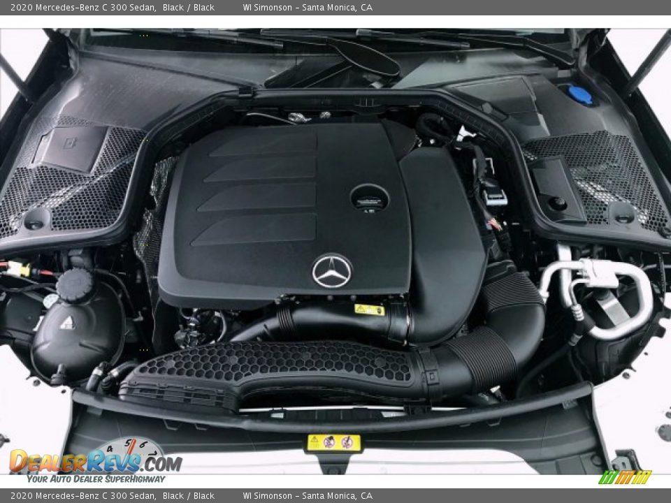 2020 Mercedes-Benz C 300 Sedan Black / Black Photo #8