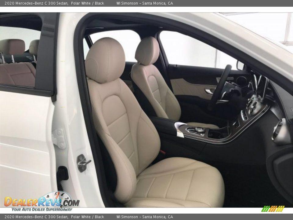 2020 Mercedes-Benz C 300 Sedan Polar White / Black Photo #5