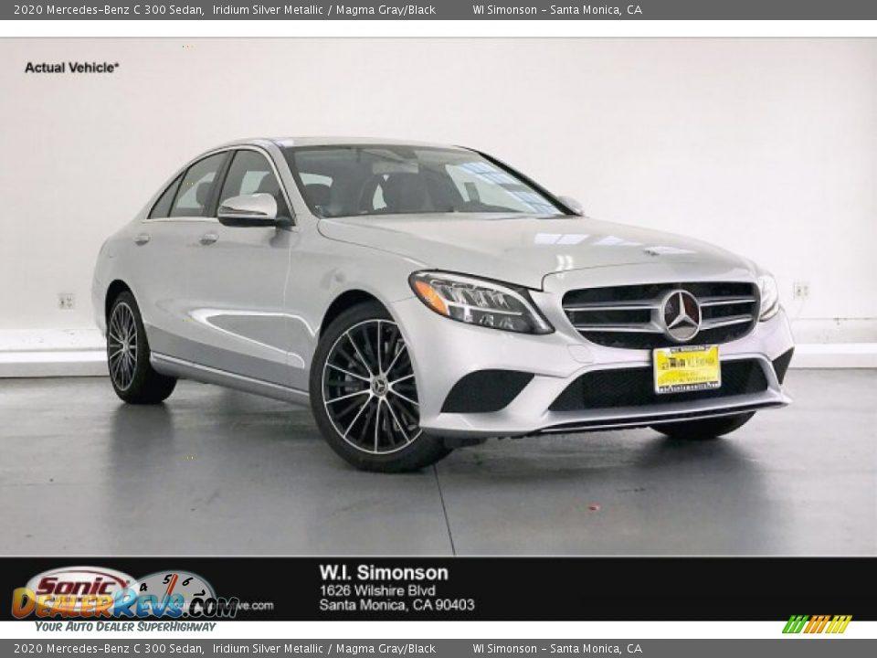 2020 Mercedes-Benz C 300 Sedan Iridium Silver Metallic / Magma Gray/Black Photo #1