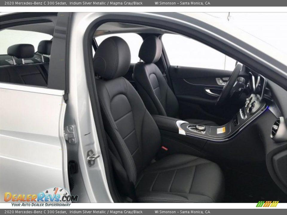 2020 Mercedes-Benz C 300 Sedan Iridium Silver Metallic / Magma Gray/Black Photo #5