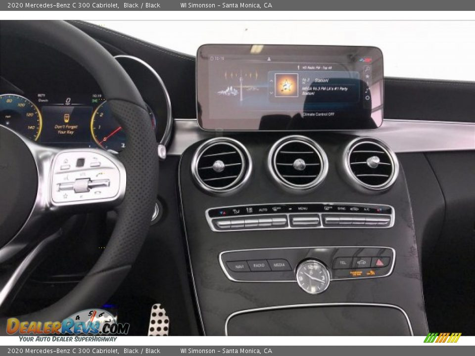 Controls of 2020 Mercedes-Benz C 300 Cabriolet Photo #6
