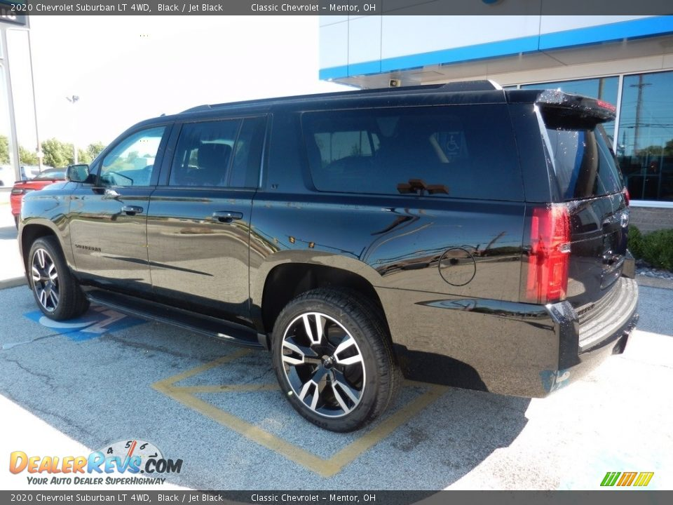 2020 Chevrolet Suburban LT 4WD Black / Jet Black Photo #5