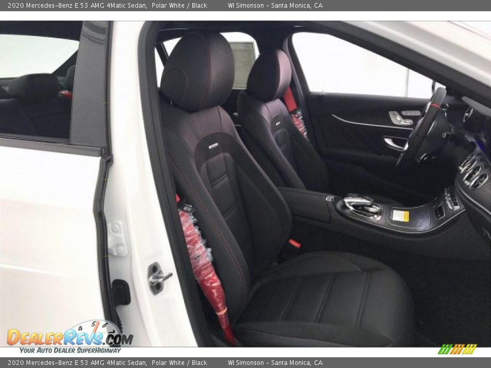 2020 Mercedes-Benz E 53 AMG 4Matic Sedan Polar White / Black Photo #5