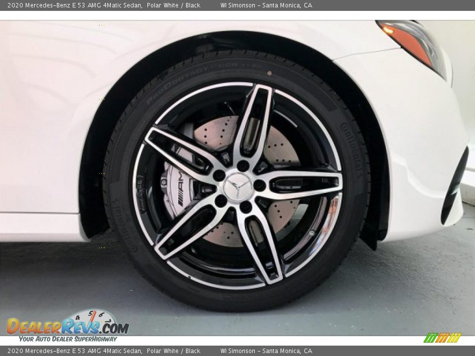 2020 Mercedes-Benz E 53 AMG 4Matic Sedan Polar White / Black Photo #9