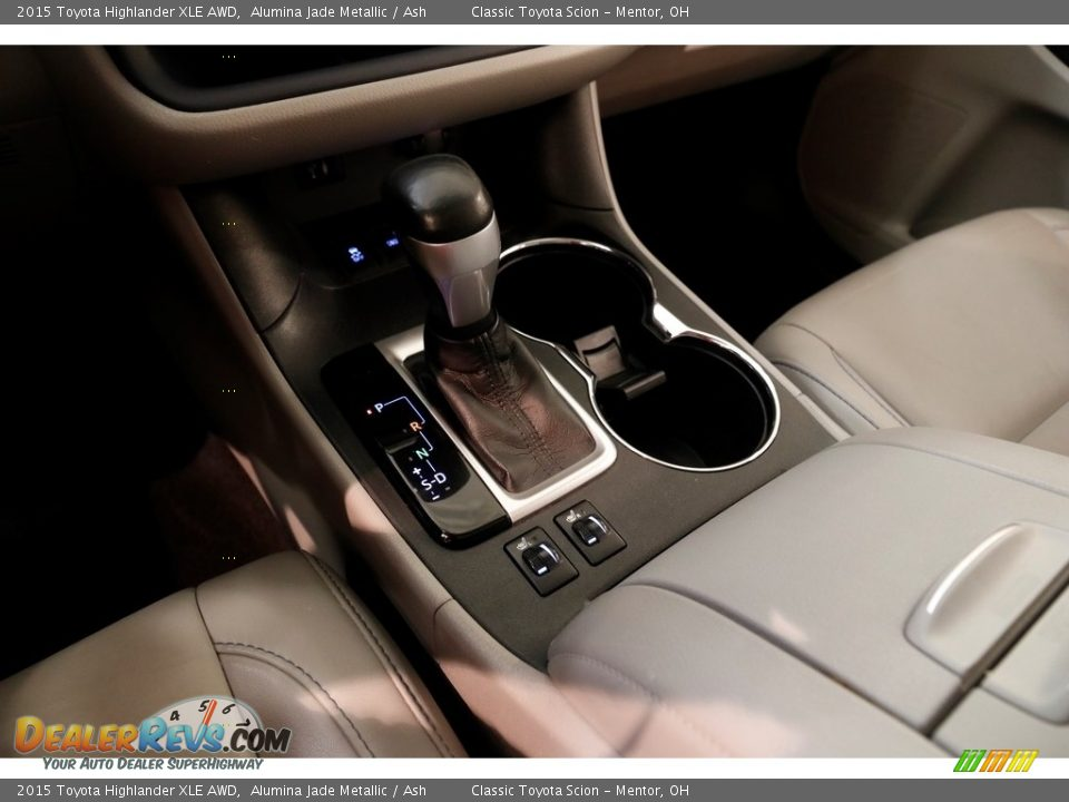 2015 Toyota Highlander XLE AWD Alumina Jade Metallic / Ash Photo #13